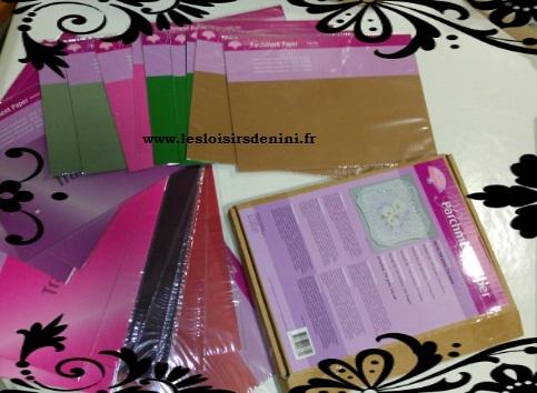 Arrivage images 3D et Papier Pergamano