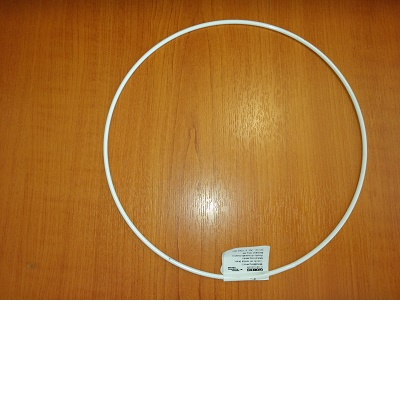 Cercle métal blanc